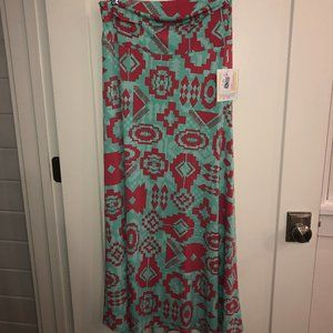 LulaRoe maxi skirt sz S NWT Aztec print skirt